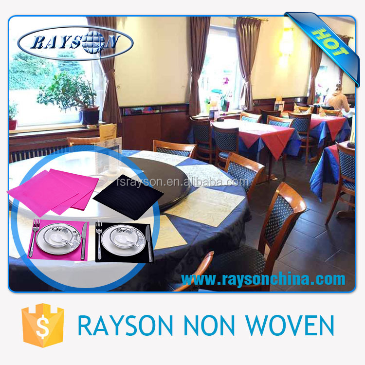 Creditable PP Nonwoven Fabric Producer Disposable Church Table Cloth
