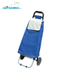 Foldable Trolley Compact Expandable Shopping Bag with Wheels