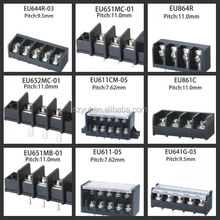 plastic electrical barrier terminal blocks 9.5mm 10mm 11mm 13mm