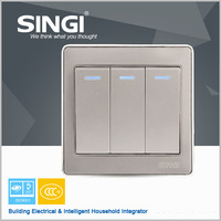 Africa touch switch frame light sensitive electrical Wall Switch