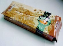 250g side gusset coffee bag/2012 new aluminum foil stand up coffee bag