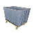 large size laundry hamper with wheels for storage and transport