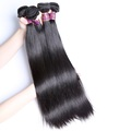 3 pcs/lot 14 16 18 inches free shipping black remy virgin Brazilian straight hair