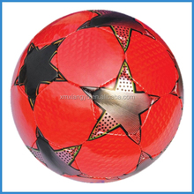 machine stitched custom print professional PU soccer ball size 5