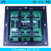 hot sale waterproof P10 led panel outdoor led tv display panel for advertising