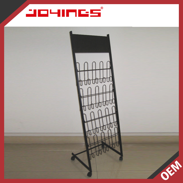 The Best Choice Factory Supply Wire Magazine Rack Display Metal