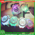 LED watch halloween pin light up watch