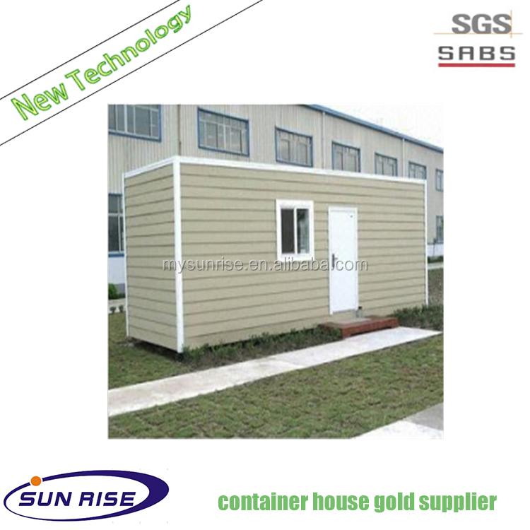 Prefab flatpack office living room prefabricated container house for sale