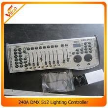 DMX512 240 console Mini Stage Lighting DMX 240 controller