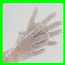 KA-GS00099 cheapest disposable examination medical vinly gloves with high quality