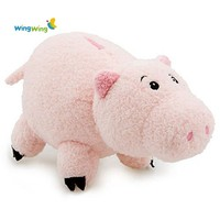 Alibaba hot custom cute plush animal toys soft pink pig wholesale