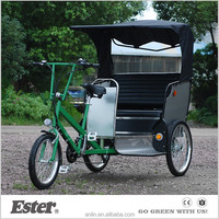 Taxi ESTER Pedicab Tricycle with Tektro brake Kenda tyre