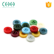 Factory custom colorful corozo shirt round button