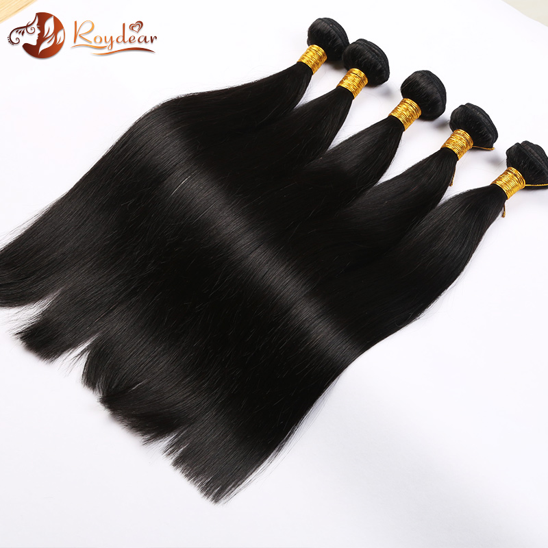 Factory Wholesale brazilian human hair extension Straight Human Hair Weave