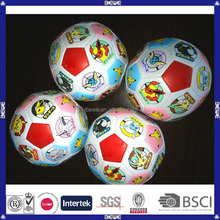 china manufacturer top quality custom toys promotion soccer style coloured cotton ball
