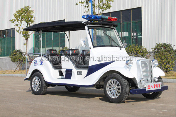 Auburn Speedster 96V 10KW ultra-mini patrol car with EEC/ECC/CE certification