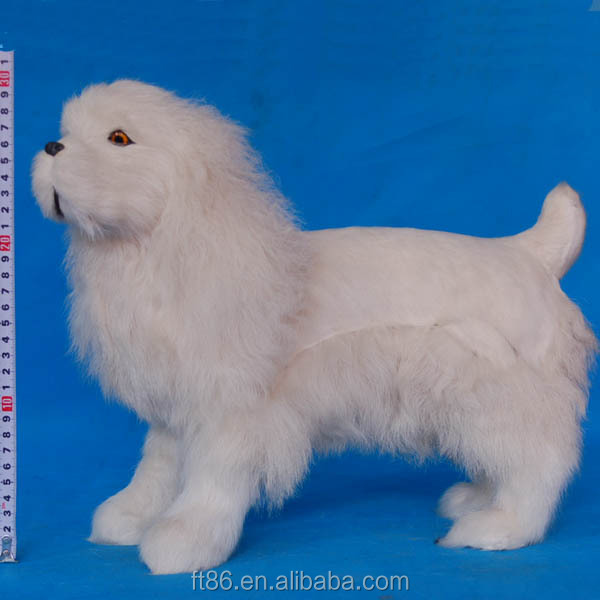 wholesale fur plastic lifelike best made plush stuffed battery operated dog toy