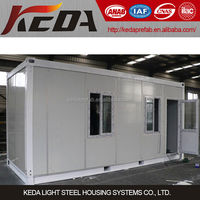 20ft two storey prebuilt flat pack container house