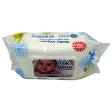 body Cleaning use 100pcs Skin Care baby wet wipe