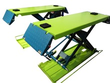 Portable Hydraulic double Cylinder scissor Car lift for sale