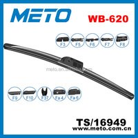 10+1 Multi adapters Aero windscreen wiper blade WB620, teflon and graphite coating