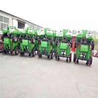 Agricultural planting machinery walking tractor mounted potato planter tool with CE