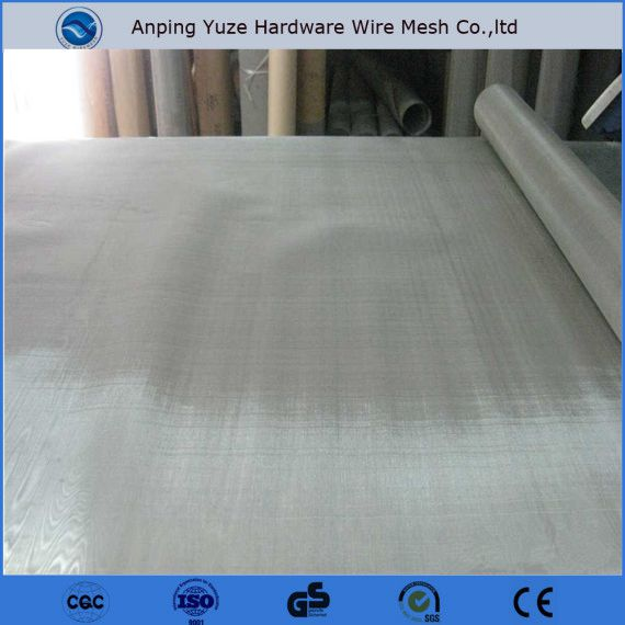 stainless steel filter 400 microns, 4mm stainless steel screen mesh, 316 stainless steel mesh flexible