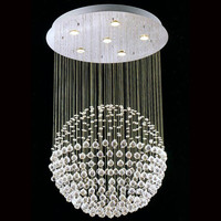 Classic europe crystal chandelier chandeliers with crystal balls