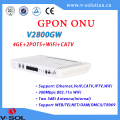 Triple Play FTTH Solution GPON ONU wifi onu wireless router
