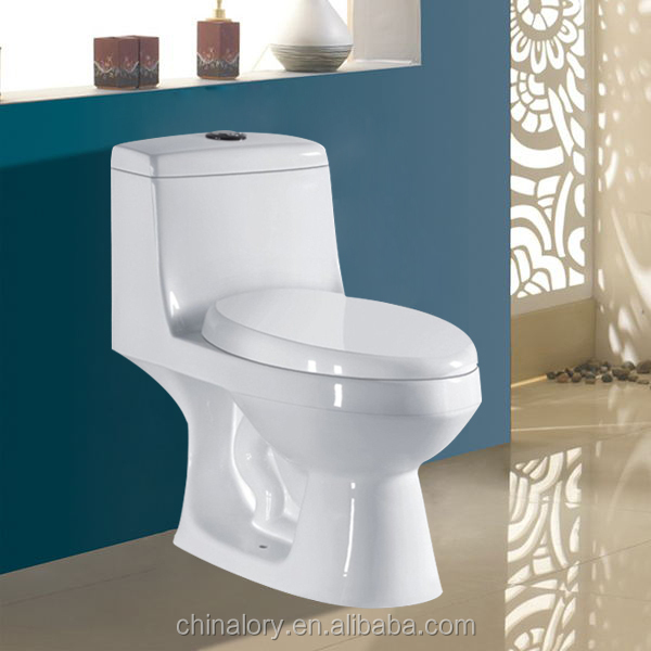Dual-flush Ceramics Toilet Siphonic Two-piece Toilet Price