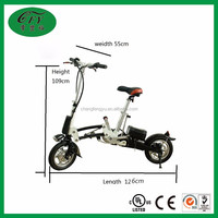 36V 300W motor brushless aluminum frame 14 inch wheel size li-battery folding electric bike