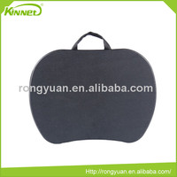 China supplier portable mini black PP fiber ribbon handle PVC sheet laptop desk