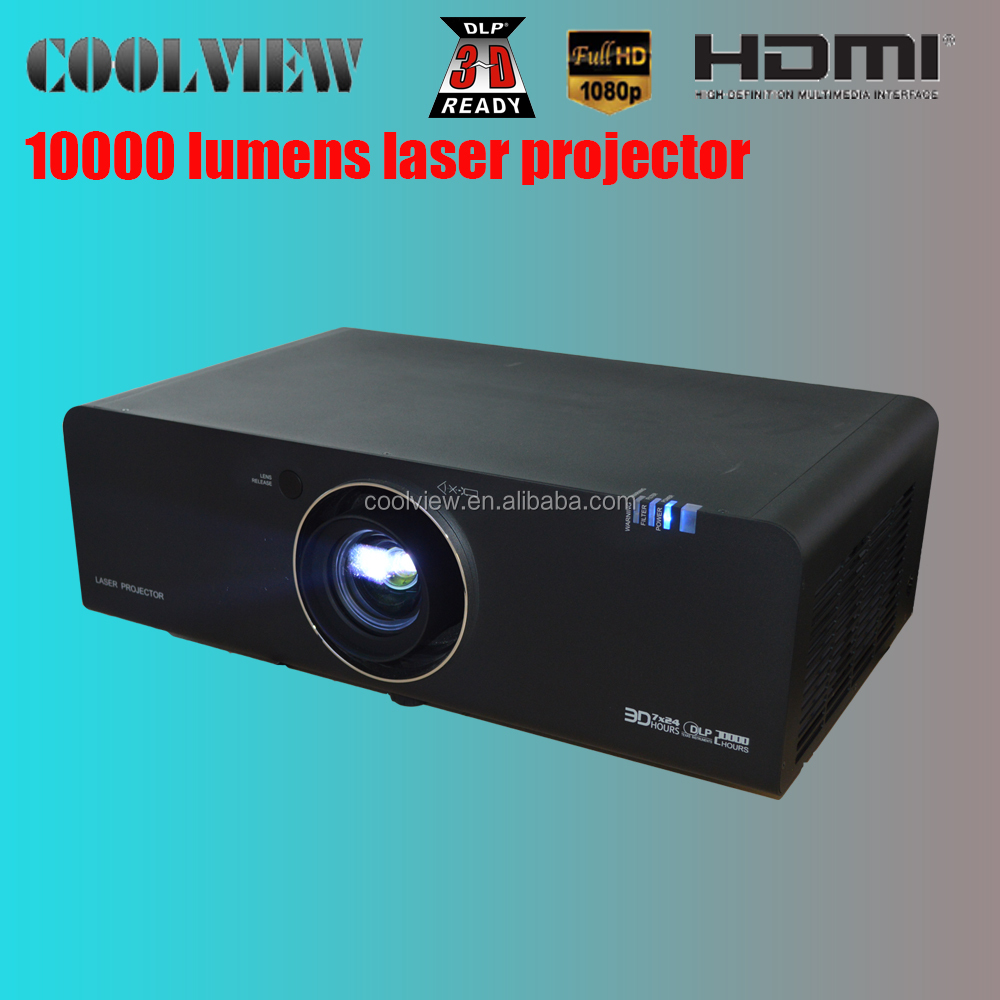 polarize 3D 10000 lumens 3 years laser projector 3d cinemas