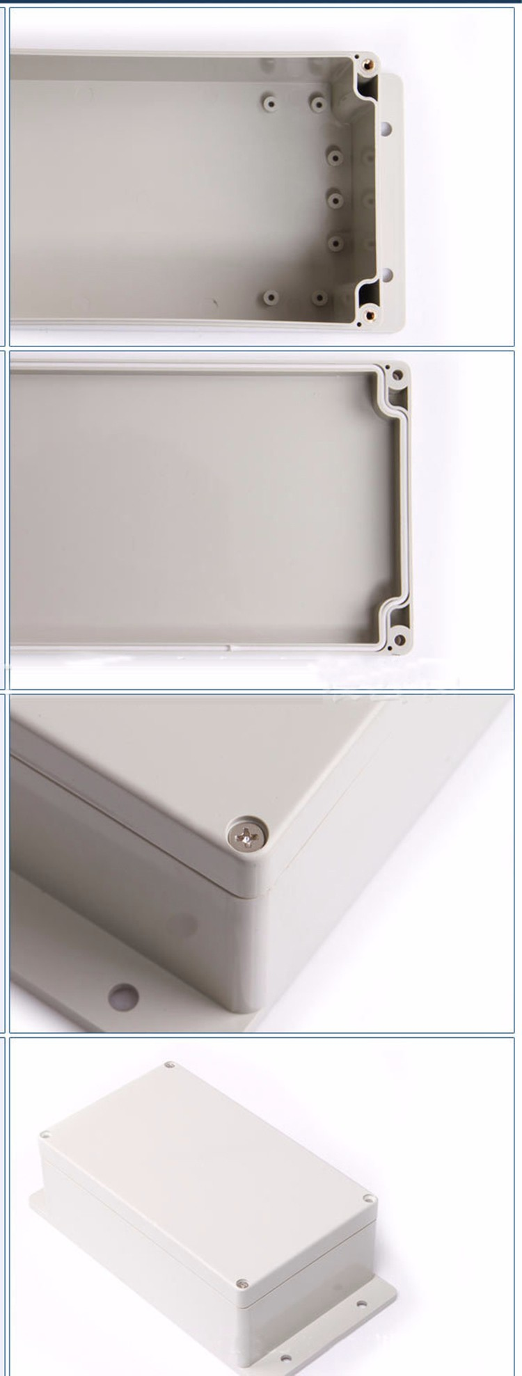 ABS 200*120*75mm ip68 waterproof junction box
