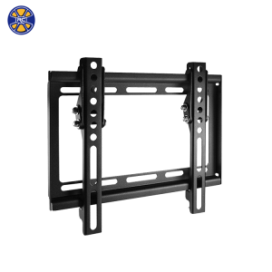 1.5 mm Thickness Sliding LCD Black Color VESA 200*200 TV Wall Mount