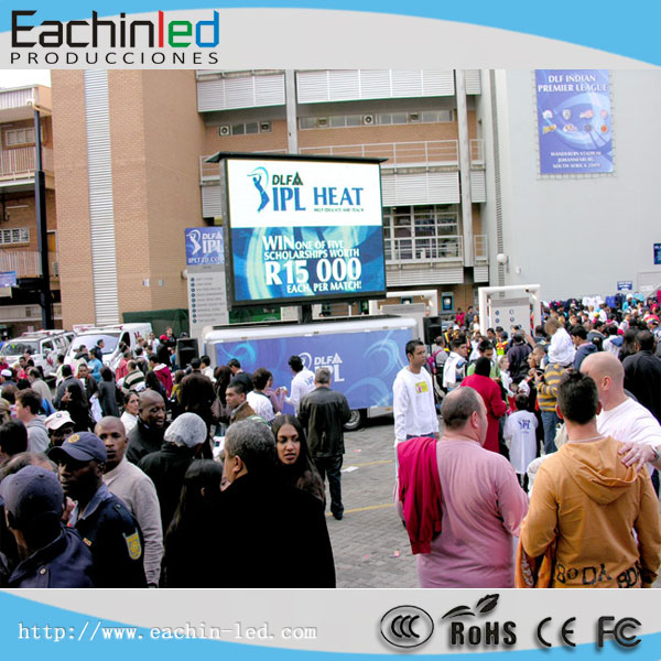 Eachinled P5 Mobile Truck Led Screen Cabinet Commercial Advertising Led Display screen for Truck/Car/Trailer
