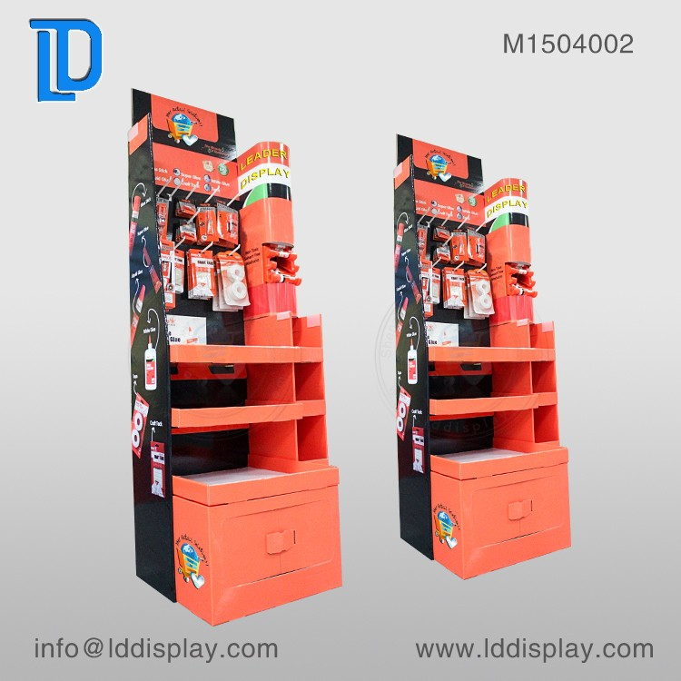 Customized Designed corrugated floor display pictures
