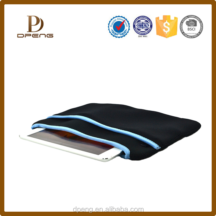 Convenient tool leather tablet bag case,leather pouch bag for ipad