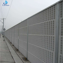 High quality steel sound barrier fence,noise barrier wall,highway and railway noise barrier price for road