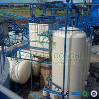 International joint venture 50tons daily capacity continuous used engine oil recycling plant