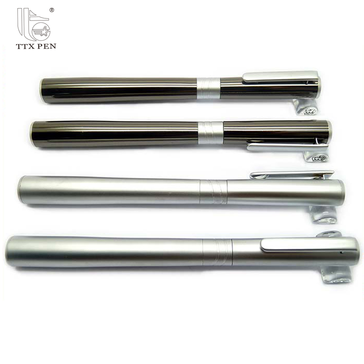New design Customized 2017 new design nice metal roller ball pens promotional items china