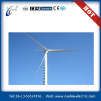 Top value Daelim 50kw 10000 watt wind generator