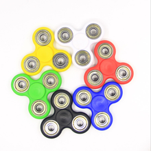 Tri Figet Hand ABS Plastic Spinner Toys 608 Ceramic Bearing Direct Factory Finger Spinner