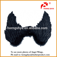 Black Angel Feather Wings for Sale