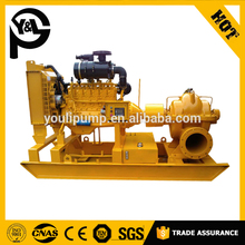 TPOW Series Horizontal Split Case Centrifugal Dewatering Double Suction Pump