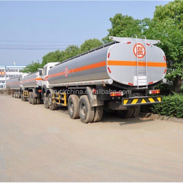 Beiben Oil Tanker Truck Fuel Tanker Capacity for sale