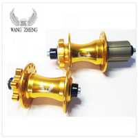 WZ-A296 R/F alluminum bicycle hubs