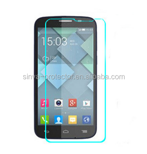 Anti-explosion high quality tempered glass screen protector for alcatel idol2 mini