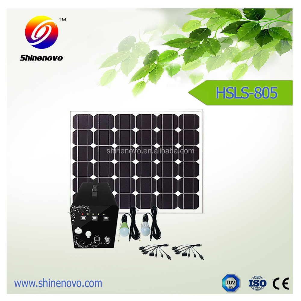house using solar lighting household home solar energy system in china