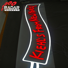 Company name brand logo sign fronlit 3d led lighted sign with ul listed